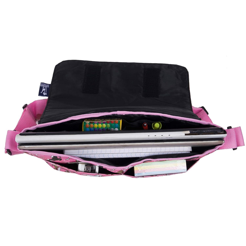 Wildkin Pink Leopard 13 Inch x 10 Inch Messenger Bag