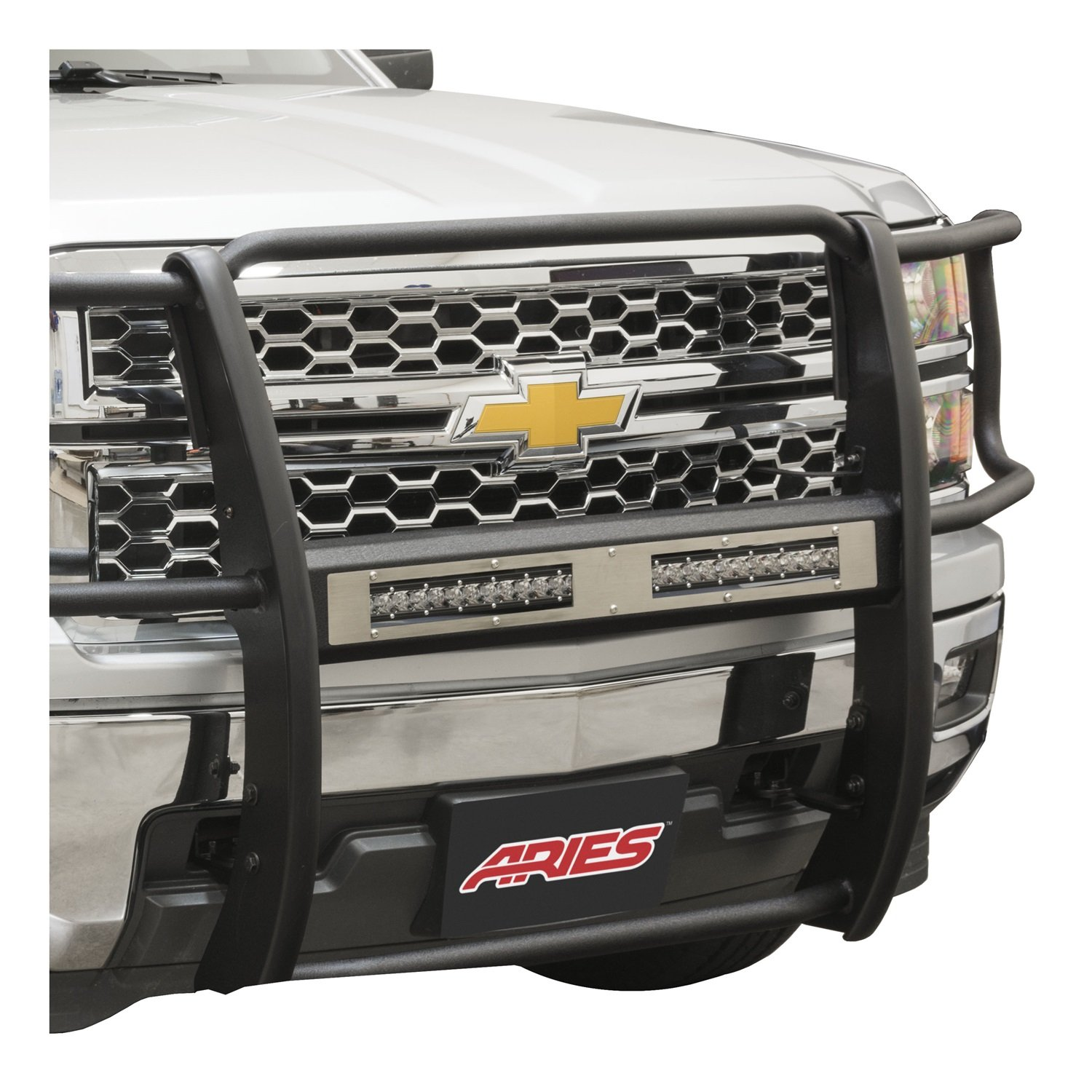 ARIES PC10OS Pro Series 10 Brushed Stainless Steel Grille Guard Cover Plate