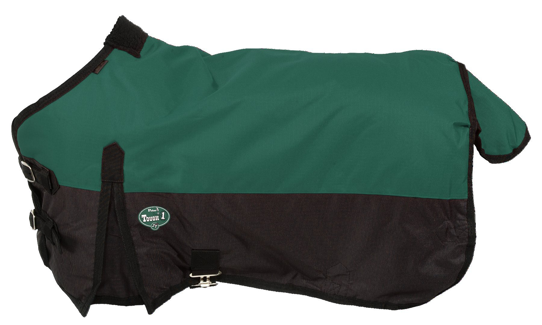 Tough 1 600D Waterproof Poly Miniature Turnout Blanket, Hunter Green, 46''