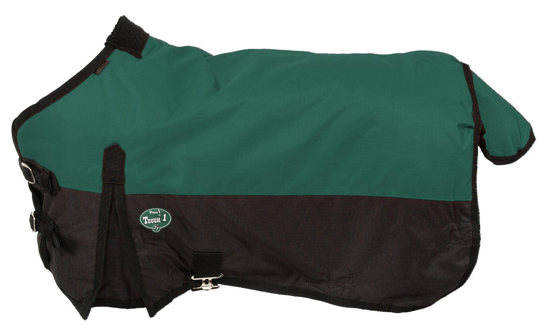 Tough 1 600D Waterproof Poly Miniature Turnout Blanket, Hunter Green, 50''