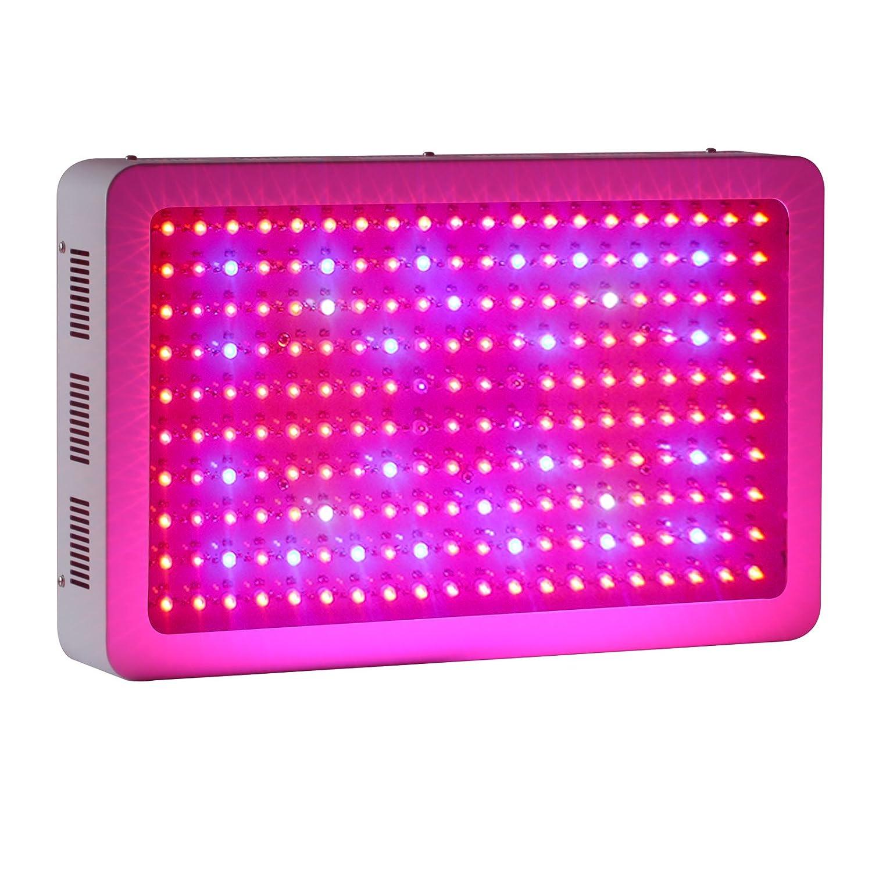 Roleadro Pflanzenlampe 600W Led Grow Lampe mit IR UV Licht