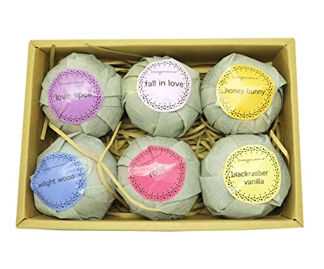 amazon com new in box cozymomo 6 extra large and lush bath bombs