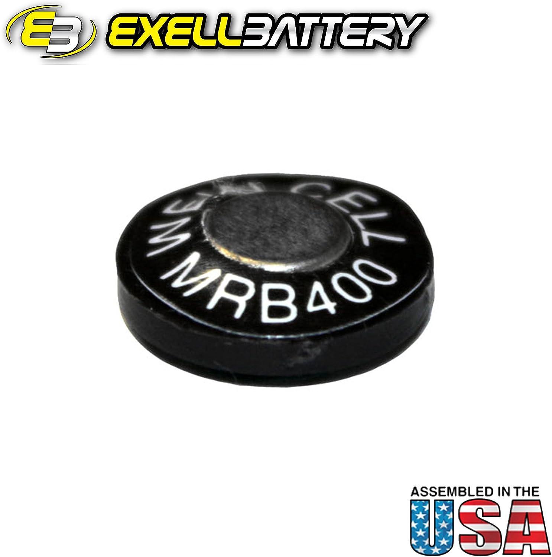 EPX400 KX400 Exell MRB400 1.35V Zinc Air Battery Z400PX V400PX MRB400 H-B PM400R E400N RM400 PX400 T400N