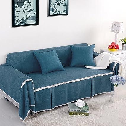 Yazi profundo azul Funda para sillón sofá asiento muebles de ...
