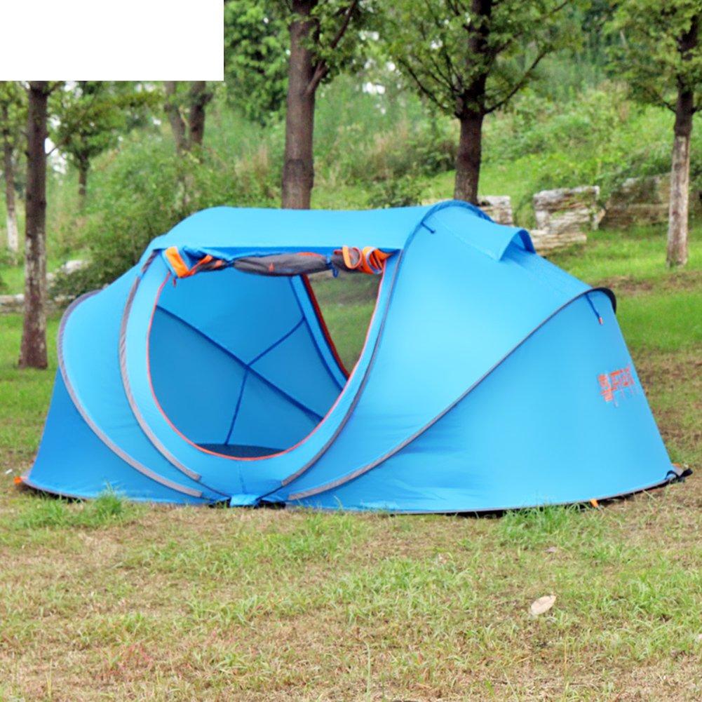 Automatische Außenzelt 2Zweite Öffnung camping Zelt kostenlos einrichten Regenschutz für camping
