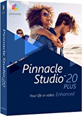 Corel Pinnacle Studio 20 Plus - Software de video (Caja, ENG, FRE, 3GP, AVCHD, AVI, DivX, H.263, HDV, MPEG1, MPEG2, MPEG4, WMV, AAC, AC3, AMR, M4A, MP3, MPA, Vorbis, WAV, WMA, BMP, GIF, JPG, JPS, PCX, PNG, PSD, TGA, TIF, WMF, PC)