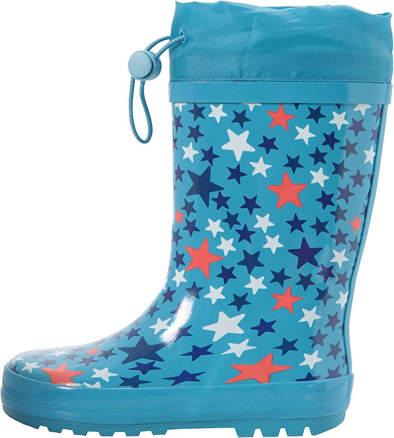 Easy Clean Rain Boots Mountain Warehouse Sunny Rubber Kids Wellies
