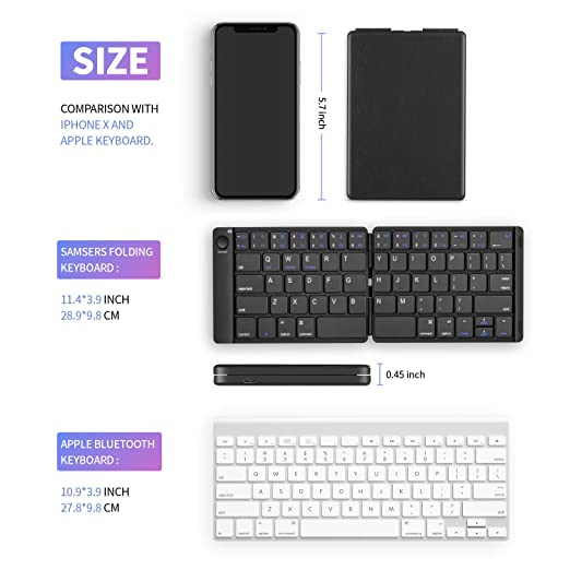 Shengyangwenhua 2.4G Wireless English Keyboard with Touchpad Color : Black Black Support PC//TV