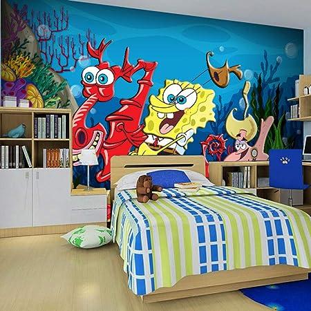 Autocollant 3d Papier Peint Mural Peinture Murale Cartoon
