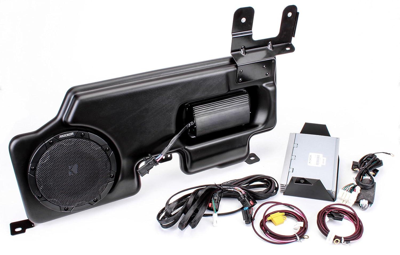 Kicker Pf150sc15 Powerstage Amp Powered Sub Upgrade 2015 Ford F 150 Subwoofer Box Wiring For Super Cab Crew W Myford Radio Car Electronics