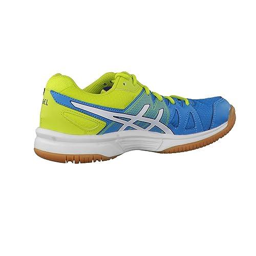 Asics Kinder Sportschuhe Gel-Upcourt GS C413N Methyl Blue/White/Lime 32.5 i1acqbOQh6