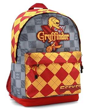 Karactermania Harry Potter Quidditch Gryffindor Mochila Tipo Casual, 44 cm, 23 litros, Rojo: Amazon.es: Equipaje