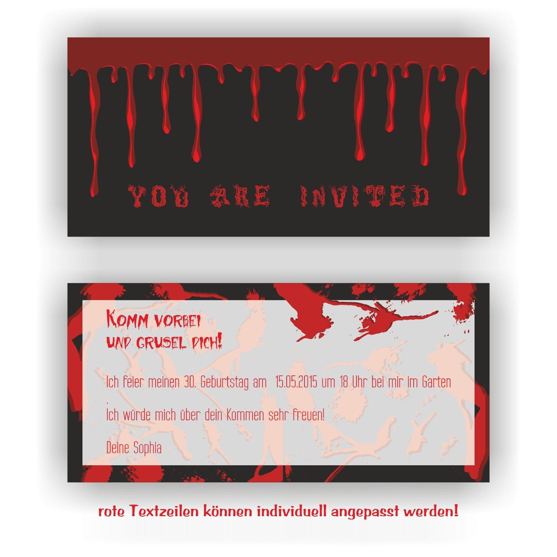 Einladung zum Geburtstag Motto Halloween I I I Einladungskarten (40 Stück) B076LM2SND | Vielfältiges neues Design  | Good Design  | Qualität Produkte  eccf47
