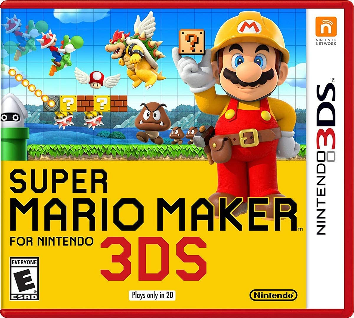 Amazon Com Super Mario Maker For Nintendo 3ds Nintendo 3ds Video