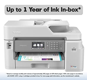 Brother MFC-J5845DW Impresora de inyección de Tinta a Color ...