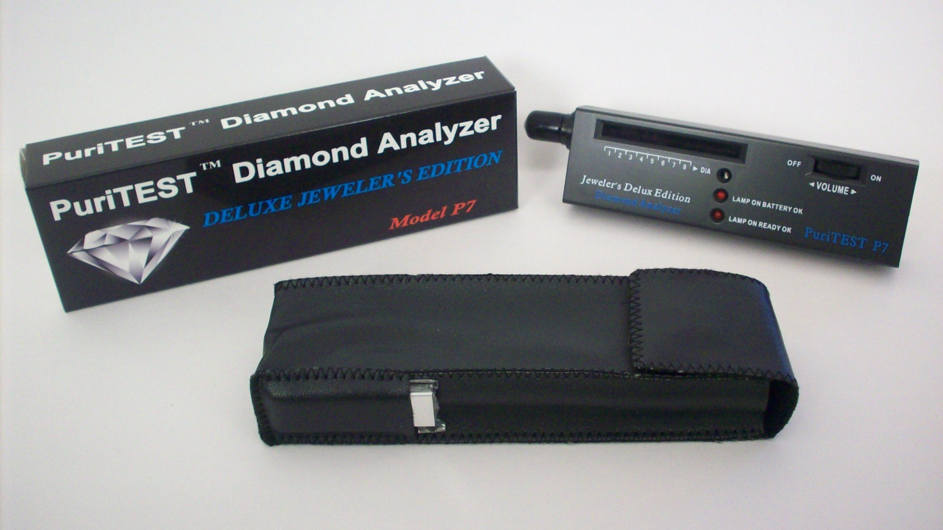PuriTEST Purity Pack for testing Diamonds Gold Silver Platinum. Electronic Machine by PuriTEST (Image #1)