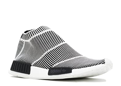 best service f07b9 d3205 Adidas NMD City Sock CS1 PK Primeknit - Black White Trainer Size 6 UK