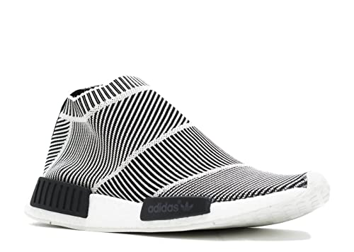 51bf15d0ef95 adidas NMD City Sock CS1 PK Primeknit - Black White Trainer  Amazon.co.uk   Shoes   Bags