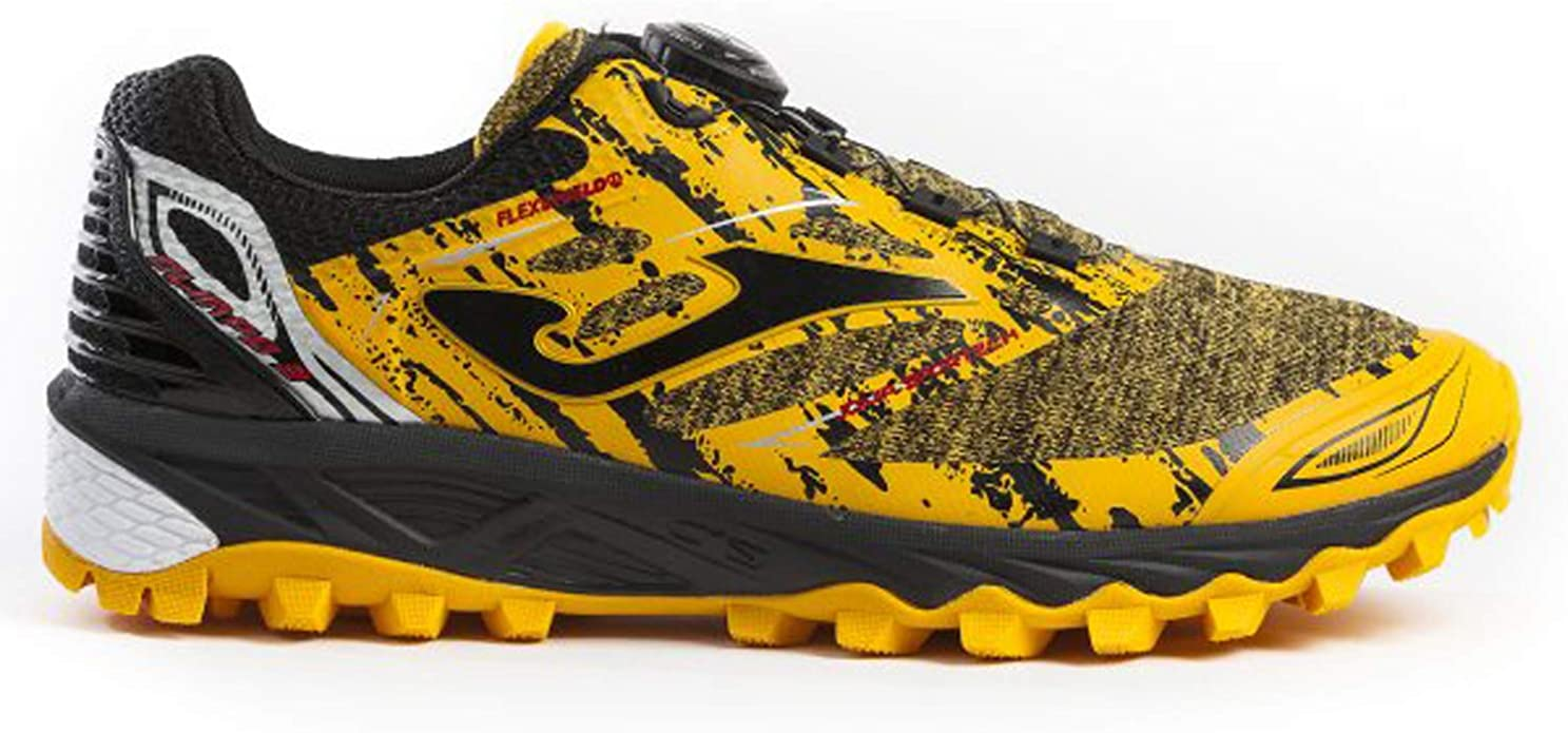 Joma TK_Olimpo 909 - Zapatillas de Trekking, Color Amarillo: Amazon.es: Zapatos y complementos