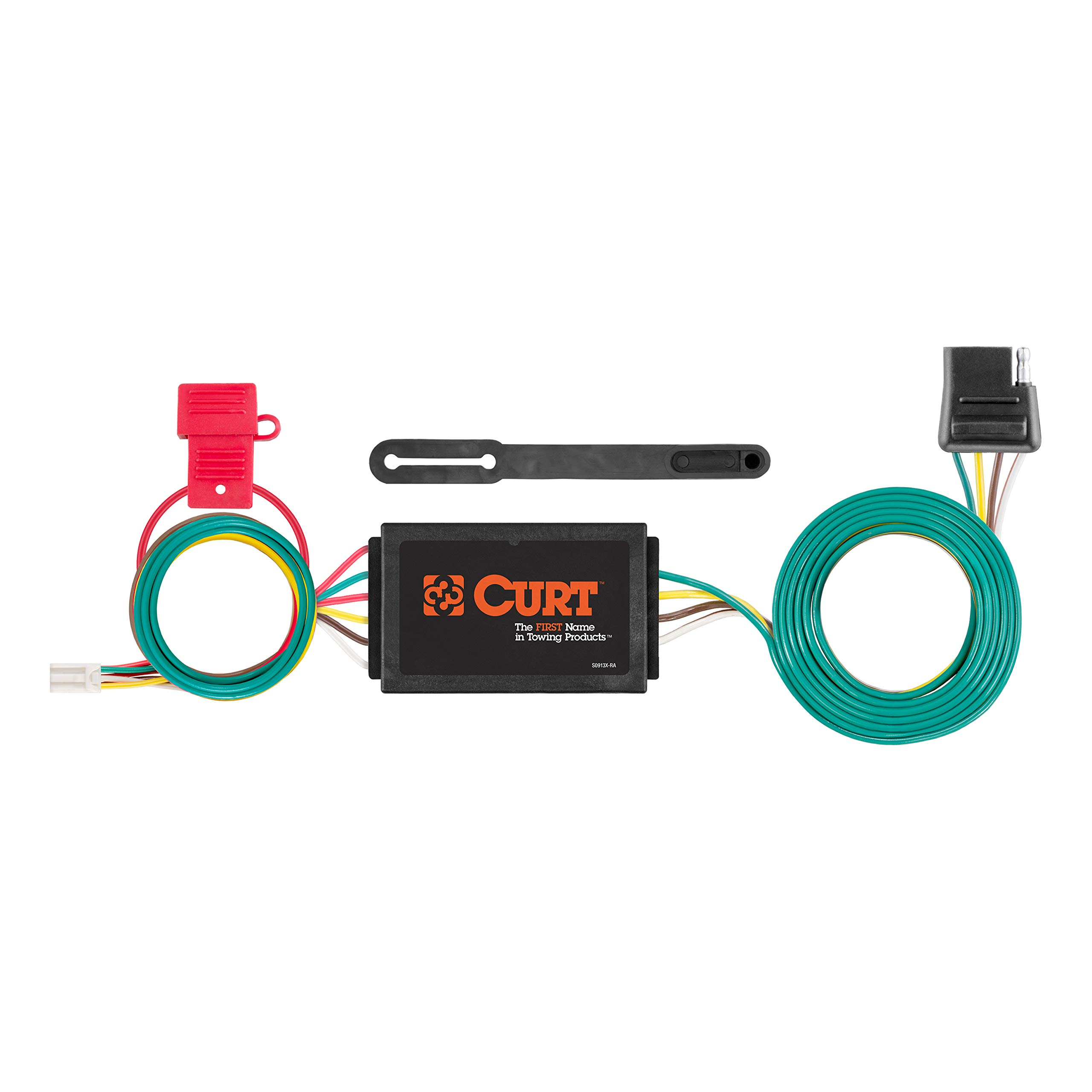 CURT 56370 Vehicle-Side Custom 4-Pin Trailer Wiring Harness for Select Honda CR-V by CURT