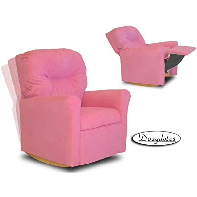 Dozydotes Contemporary Hot Pink Rocker Recliner: Toys & Games