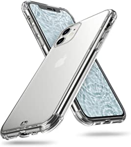ORIbox iPhone 11 Case Clear, Translucent Matte case with Soft Edges, Anti-Yellowing Clear Case for iPhone 11 for Women & Men, Clear
