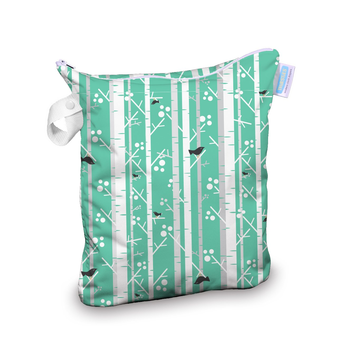 Thirsties Wet Bag, Aspen Grove