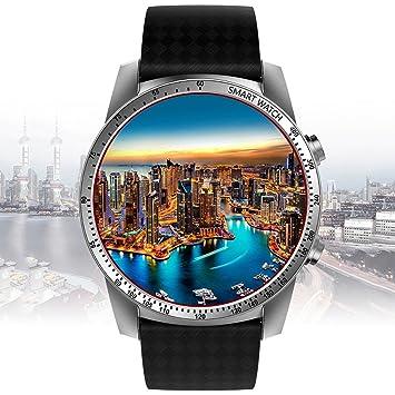 KINGWEAR - Reloj Inteligente 3G MTK6580 Quad Core 512 MB + 8 ...