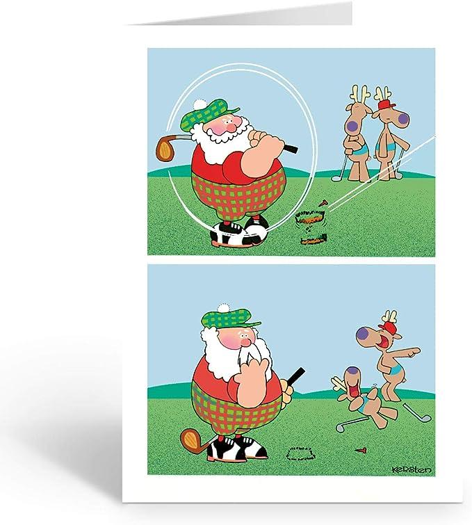 Santa Claus Golf club Christmas Clip art - Golf Santa png herunterladen -  630*617 - Kostenlos transparent Weihnachten png Herunterladen.