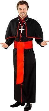 TecTake dressforfun Disfraz para Hombre de Cardenal Giovanni (S ...