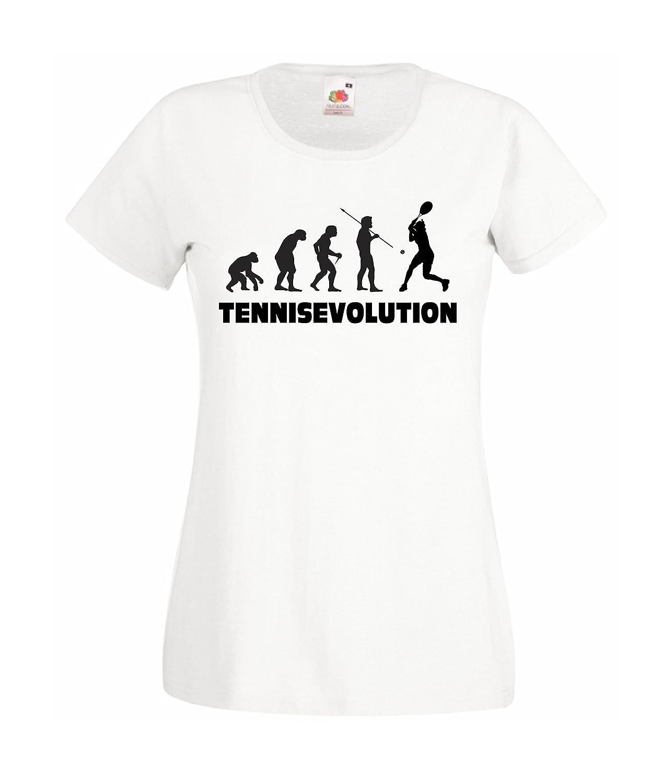 CHEIDEASTORE T-Shirt Tennis Evolution Maglietta Sport Bambina