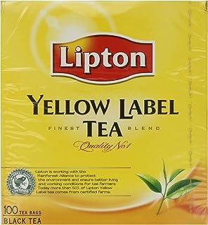 904918a50 Lipton Yellow Label 100 Tea Bags (Pack of 3, Total 300 Tea Bags)