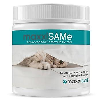 maxxicat - maxxiSAMe Avanzado suplemento Sam-e para Gatos ...