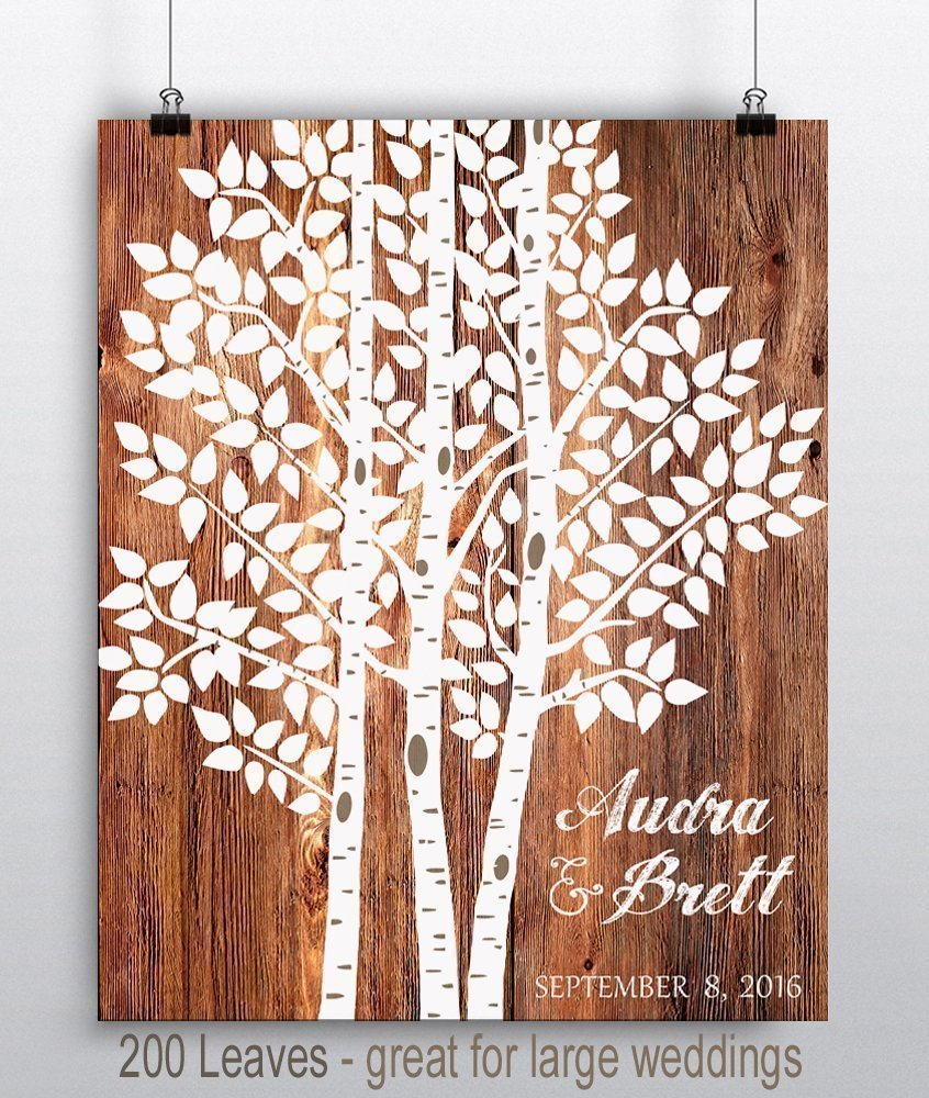 amazon com custom wedding sign wedding tree print wedding