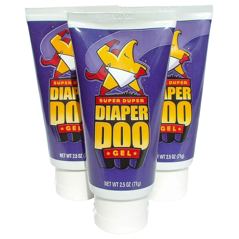 Super Duper Diaper DooTM - 2.5 oz. Tube, 3 pk. by Super Duper Diaper Doo