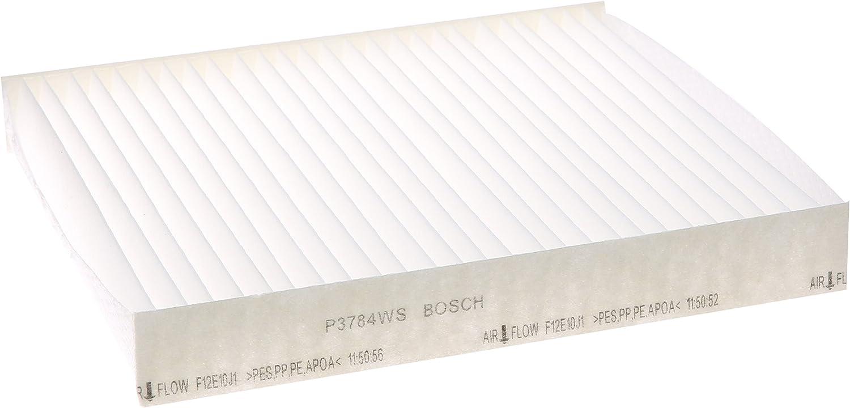 Bosch P3784WS / F00E369702 Workshop Cabin Air Filter For Select Infiniti: FX35, FX45, G35; Select Mitsubishi: Lancer, Outlander, Outlander Sport, RVR; Select Nissan: Altima, Maxima, Murano, Sentra