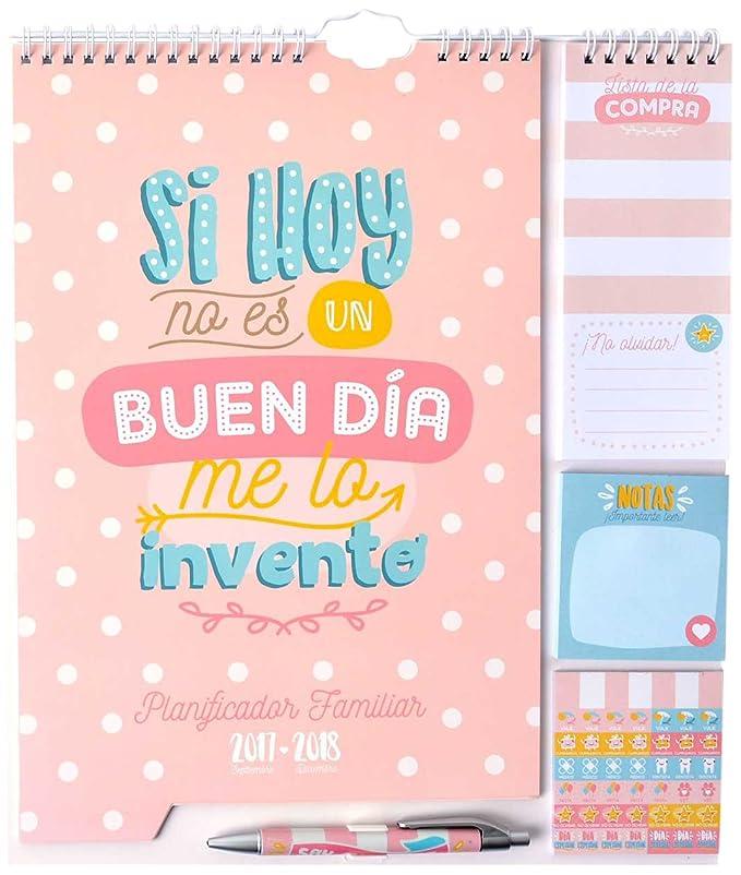 Amazoncom Erik Calendario Con Frases Español 20172018