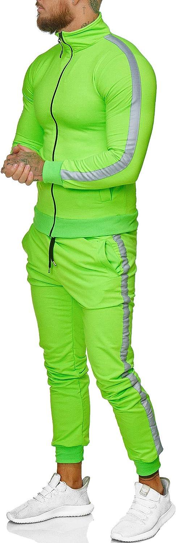 Sportanzug Modell JG-1068 Hoodie-Sporthose Jogging-Anzug OneRedox Trainings-Anzug Jogging Anzug Herren Trainingsanzug Jogginganzug Jogging-Hose
