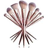 UCANBE Professional Makeup Brushes Rose Gold Makeup Foundation Blush Concelaer Contouring Eye Shadow Brush Kits
