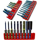 3Bits Sets 25pcs ranurado, Pozidriv, Phillips, Torx, Allen métrica–Swiss Made