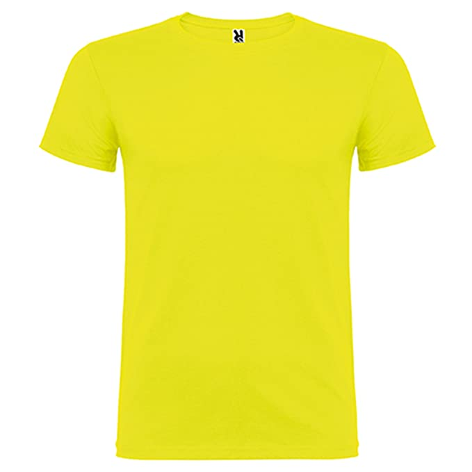 Camiseta de manga corta, de cuello redondo -Roly: Amazon.es: Ropa y accesorios
