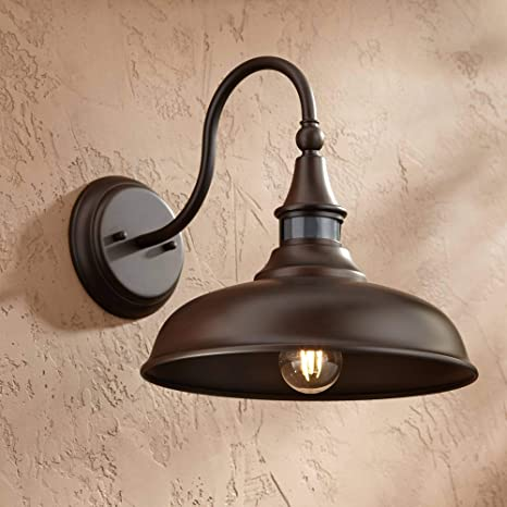 Outdoor Wall Lights Exterior Barn Light Fixture Lamp Lighting Brown