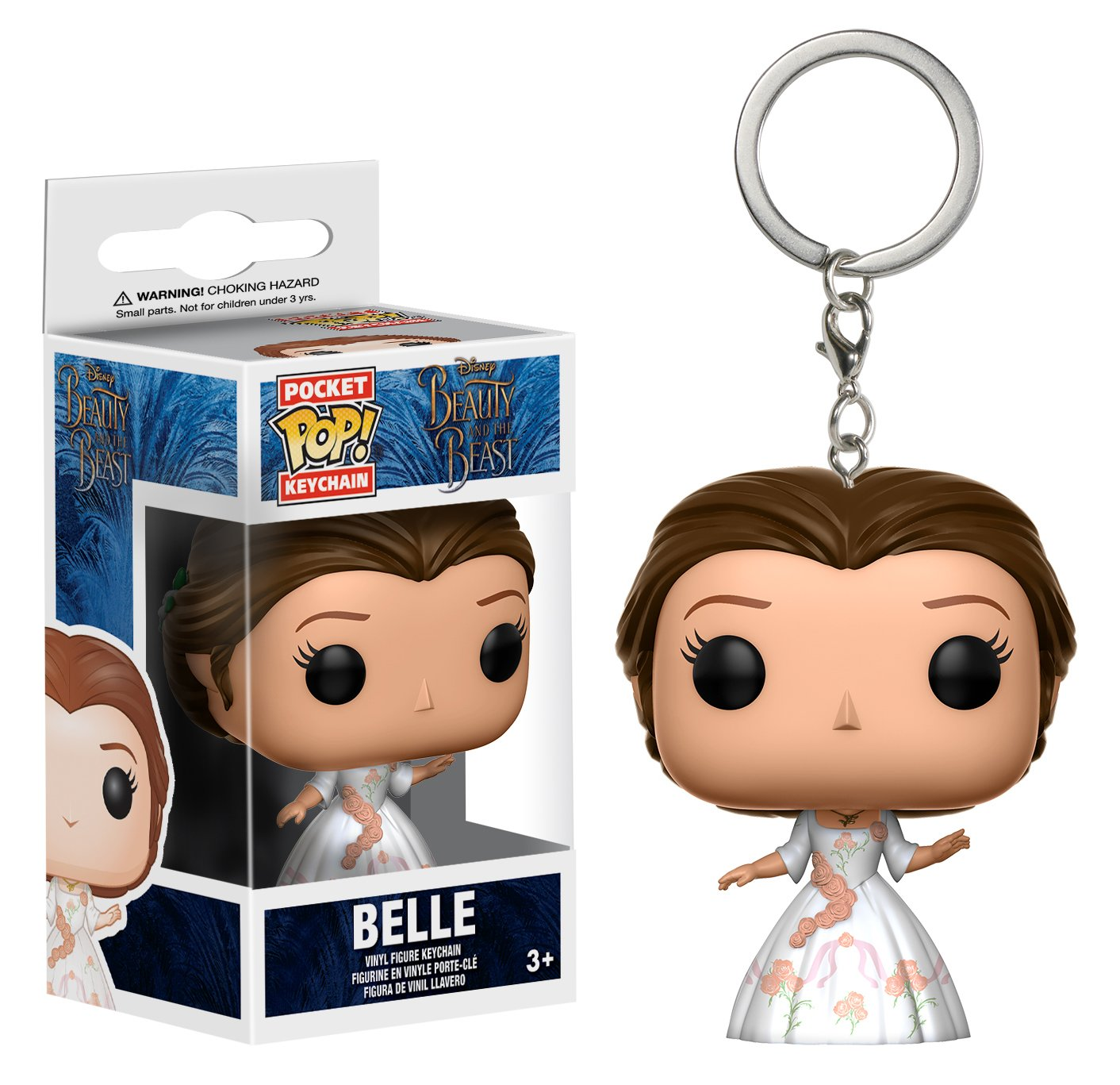 Funko Pop Keychain: Beauty & The Beast Celebration Belle Toy Figure
