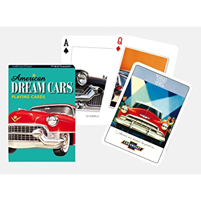 Piatnik 00 1620 Dream Cars Playing Cards: Toys & Games