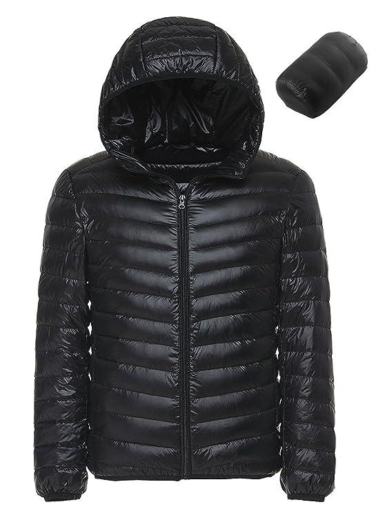 Amazon.com: Sawadikaa - Chaqueta de invierno con capucha ...