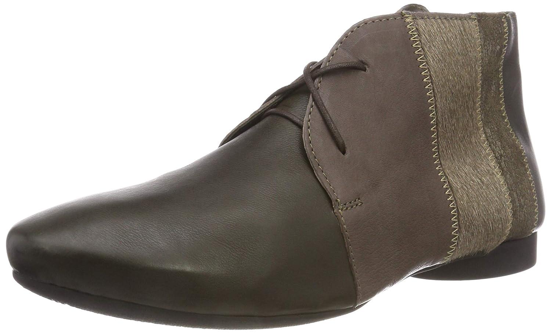 Think! Guad_383274, Zapatos de Cordones Derby para Mujer 39.5 EU|Verde (63 Oliv/Kombi)