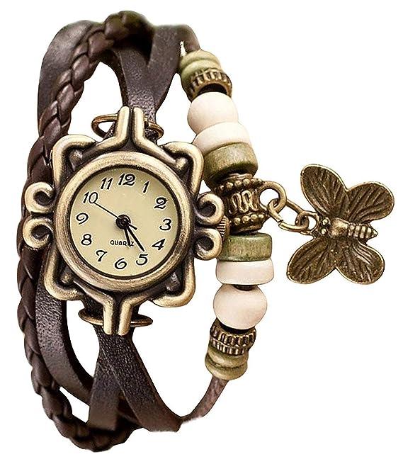 "Capture Fashionâ""¢ Analogue White Dial Women's Watch Brown Dori Best Gift for Women"