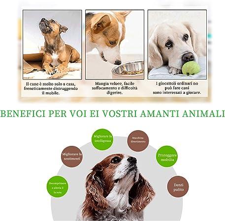 Andiker Giocattolo antistress per cani di piccola e media taglia