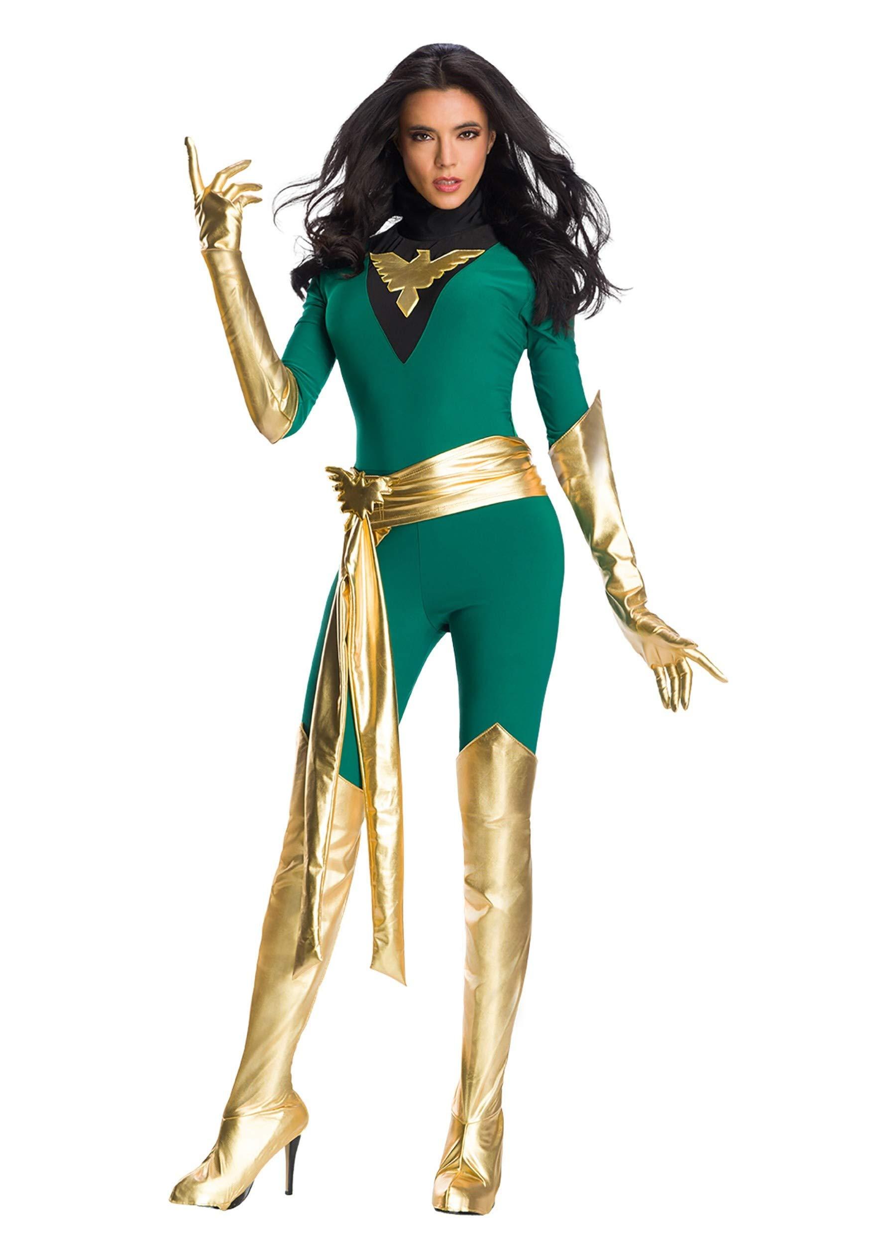 - 716N2nKjU 2BL - Premium Marvel Jean Grey Phoenix Womens Costume