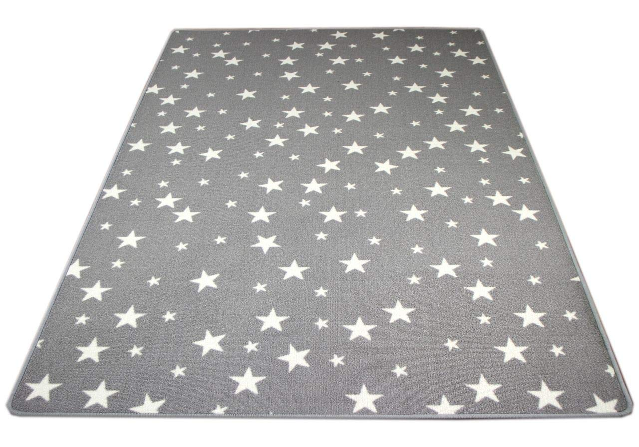 Snapstyle Kinder Spiel Teppich Sterne Grau in in in 24 Größen B07DHQYNJX Teppiche 0ae66a